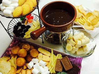 電子レンジで作るチョコレートフォンデュレシピ