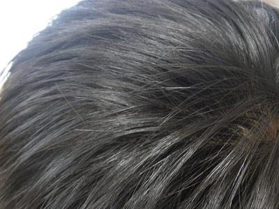 WENで洗った髪のサラツヤ感