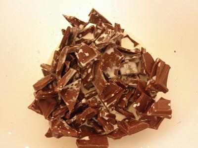 板チョコを使ったチョコレートフォンデュの作り方