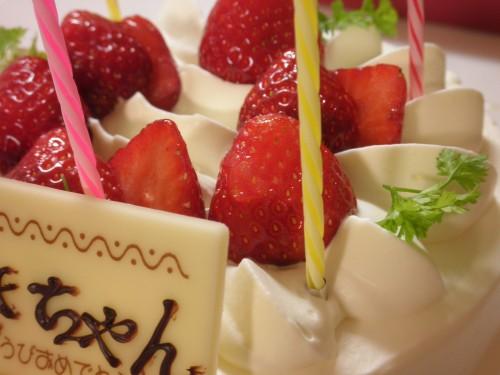 ママのお誕生日ケーキ