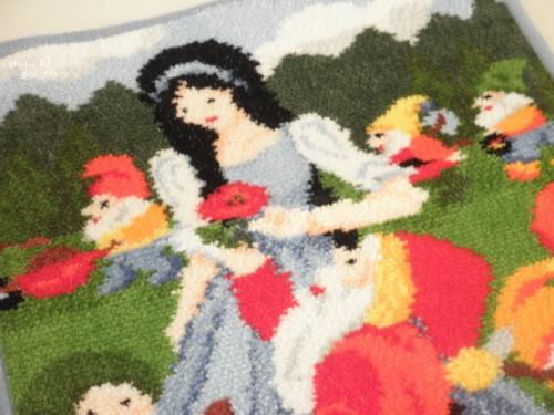 フェイラーの白雪姫タオルハンカチ