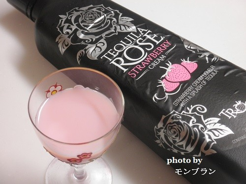 いちごミルク味のお酒テキーラローズ