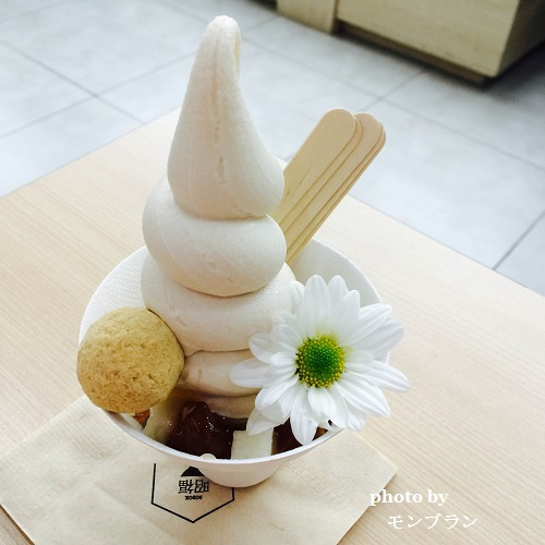 仁川国際空港で食べたアイス