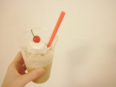 フラペチーノメーカーMr.Coffeeカフェフラッペで作るキャラメルフラペチーノ