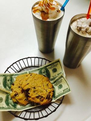フラペチーノとチョコチップクッキーでおうちスタバセット