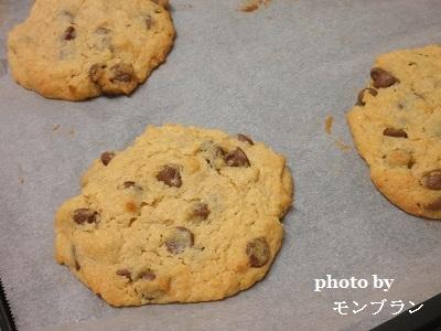 ベティクロッカーのチョコレートチップクッキーミックスで焼いた