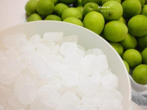 梅シロップの材料とレシピ