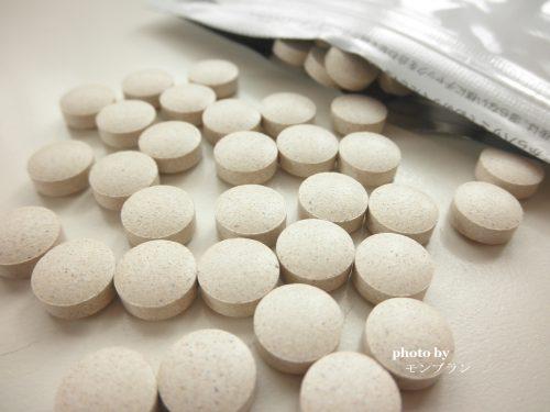 少し大きめの錠剤のすっぽんスリム酵素