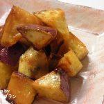 フライパン1つで出来る簡単おやつ【揚げない大学芋】レシピ