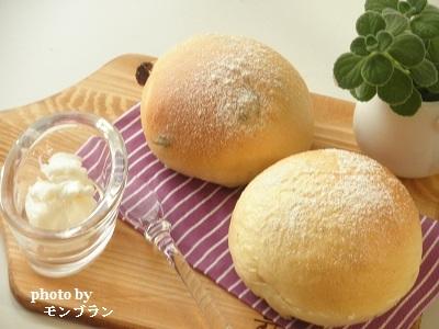 カルピスソフトでふんわり丸パン