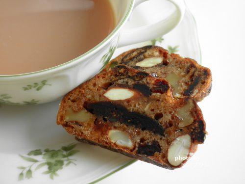 紅茶とアンデルセン アルザスのフルーツブレッド