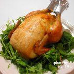 クリスマスパーティーにおすすめメニュー!自宅で簡単【鶏の丸焼き(ローストチキン)】レシピ