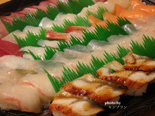 ママのお誕生日お寿司