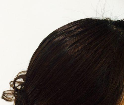 黒ツヤソフトで黒髪キープ