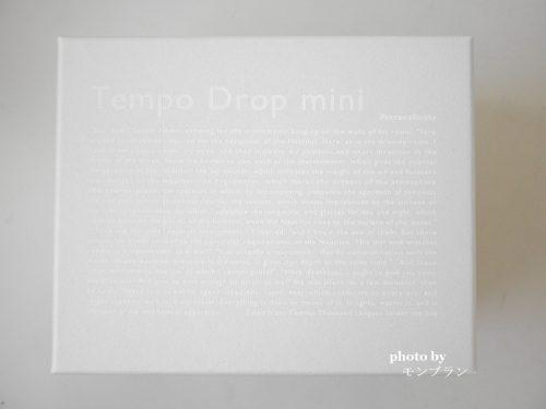 テンポドロップミニの外箱
