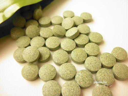 緑色の錠剤タイプのトータルアップ