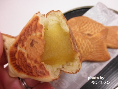 ビタントニオで作る栗あんたい焼き