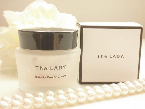 The LADY.ビューティパワークリームのデザインと外箱