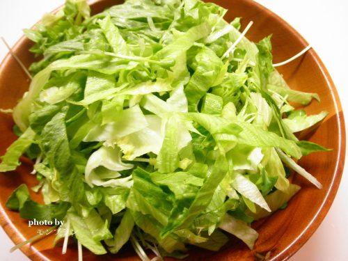 マグロのたたきサラダの作り方