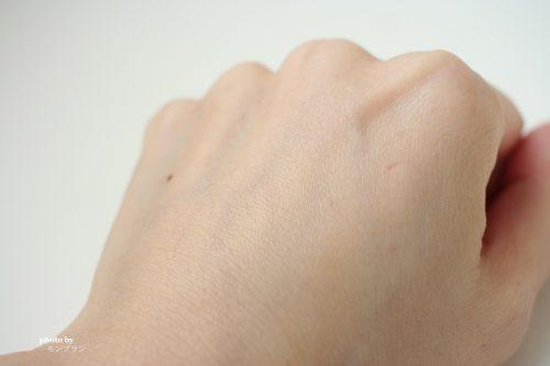 エレクトーレ フェイストリートメント モア モイスト使用後の肌