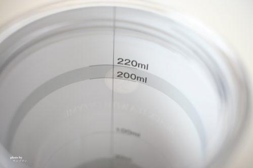 黒濃酵素紅茶プレミアムのメジャーカップ