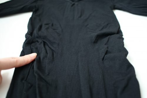 立体的な構造の肉体改造加圧シャツ金剛筋シャツ
