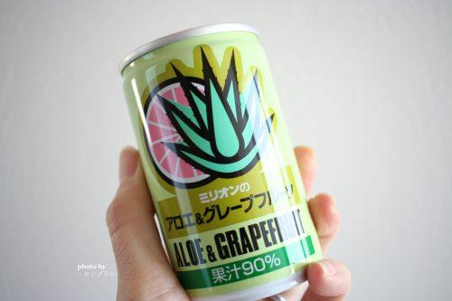 にんにく入りのアロエ&グレープフルーツジュース