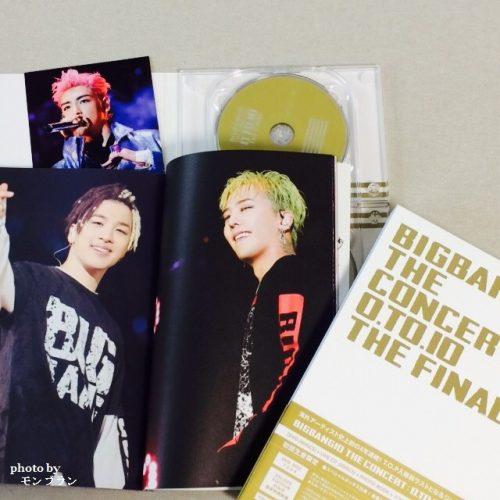 BIGBANG10 THE CONCERT 0.TO.10 THE FINALのDVDデラックス版の中身