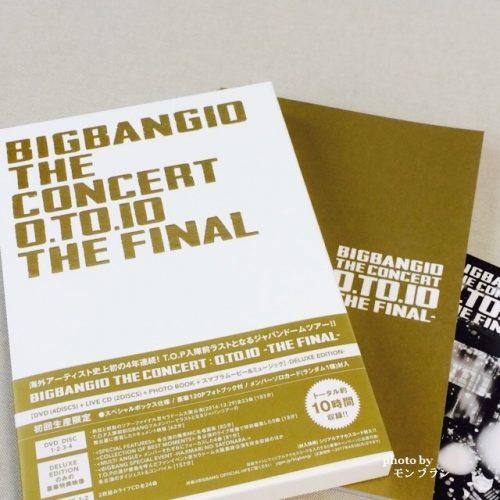 BIGBANG10 THE CONCERT 0.TO.10 THE FINALのDVD