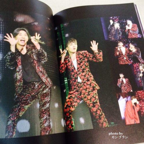 BIGBANG10 THE CONCERT 0.TO.10 THE FINALのDVDデラックス版の写真集