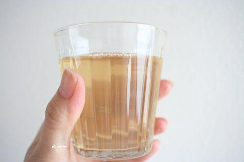 水で薄めたベルタ酵素ドリンク