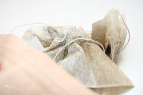 美甘麗茶びかんれいちゃのティーバッグ