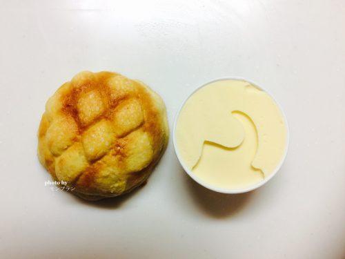 アイスメロンパンの材料