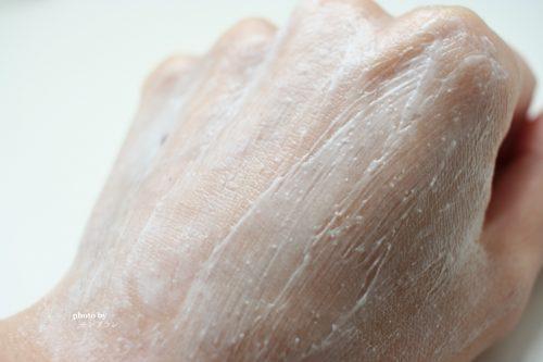 ココナッツオイルのスクラブ洗顔料の使い方