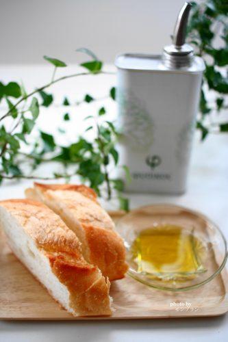 パンに合う本物のエキストラバージンオリーブオイルフシコス