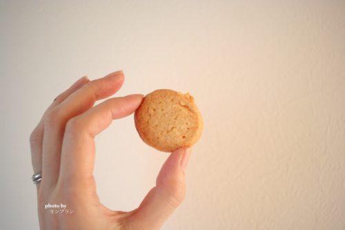ショートニングを使ったサクサククッキーのサイズ感