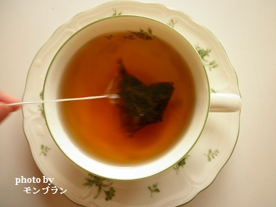 ティーバッグタイプの国産ダイエットプーアール茶茶流痩々