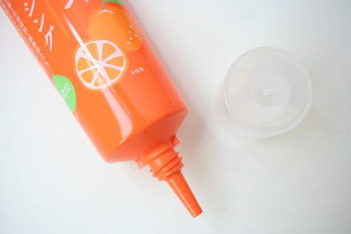植物生まれのオレンジ地肌クレンジングNの使い方
