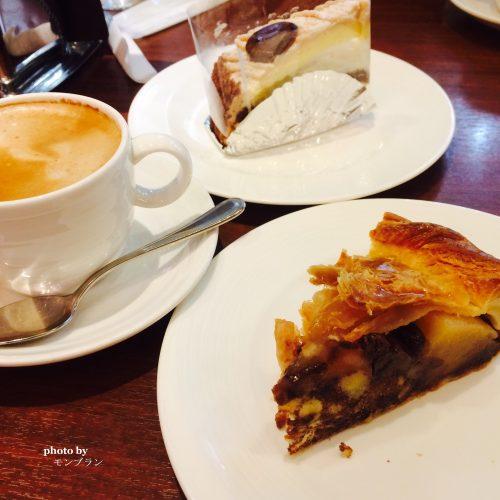 アップルパイとマロンケーキ