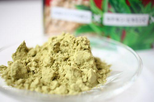 緑茶葉オリゴ糖きなこの中身