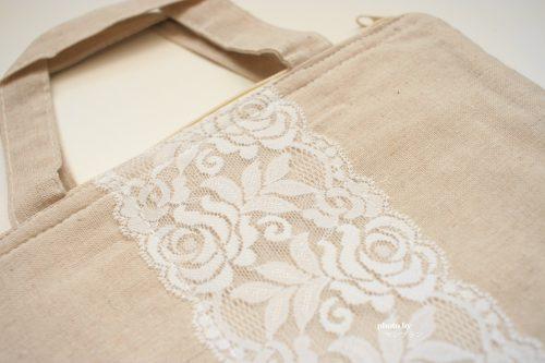 美容オイルコヨリのプレゼントバッグ