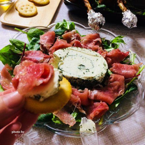 ル・ルレガーリック&ハーブチーズとクラッカー
