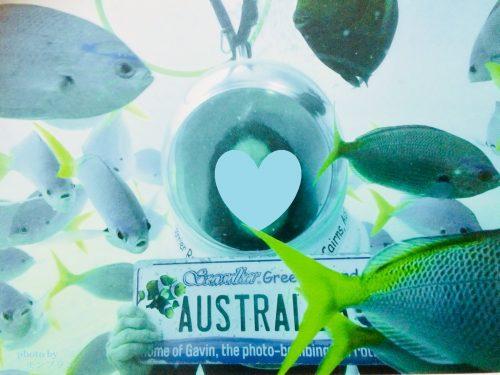 オーストラリアでシーウォーカーを楽しむばーば