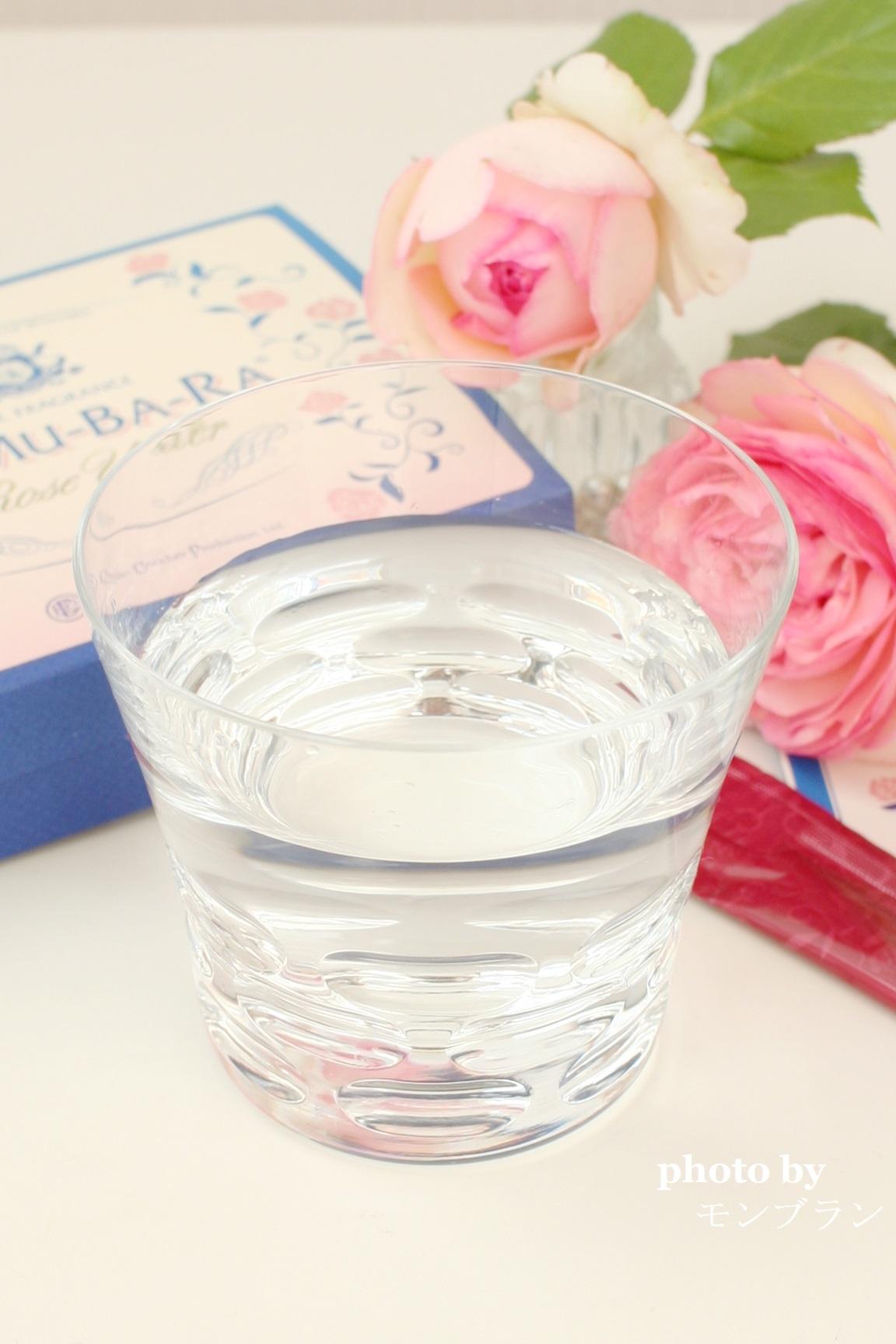 ノムバラで作ったバラ水