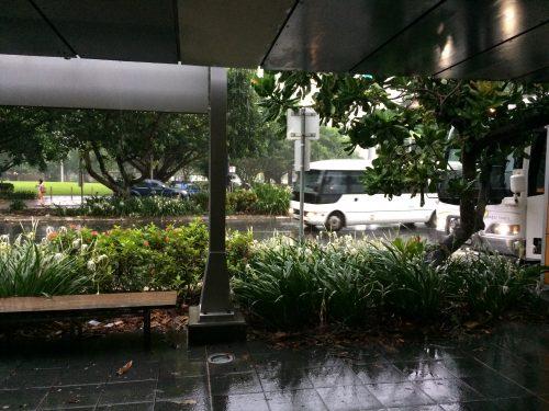 雨季のケアンズ