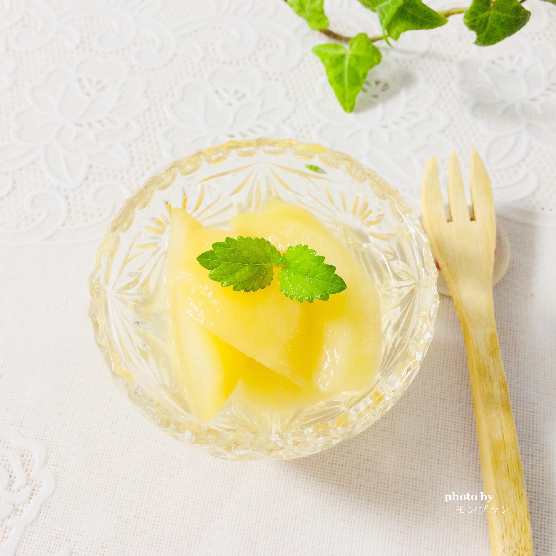 桃のコンポートレシピ