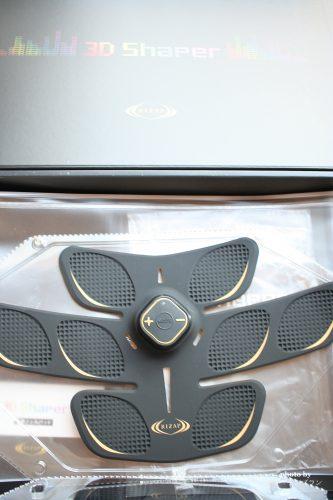 ライザップ腹筋ベルト3Dシェイパーのセット内容