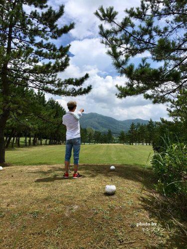 蒜山旅行期ゴルフ体験