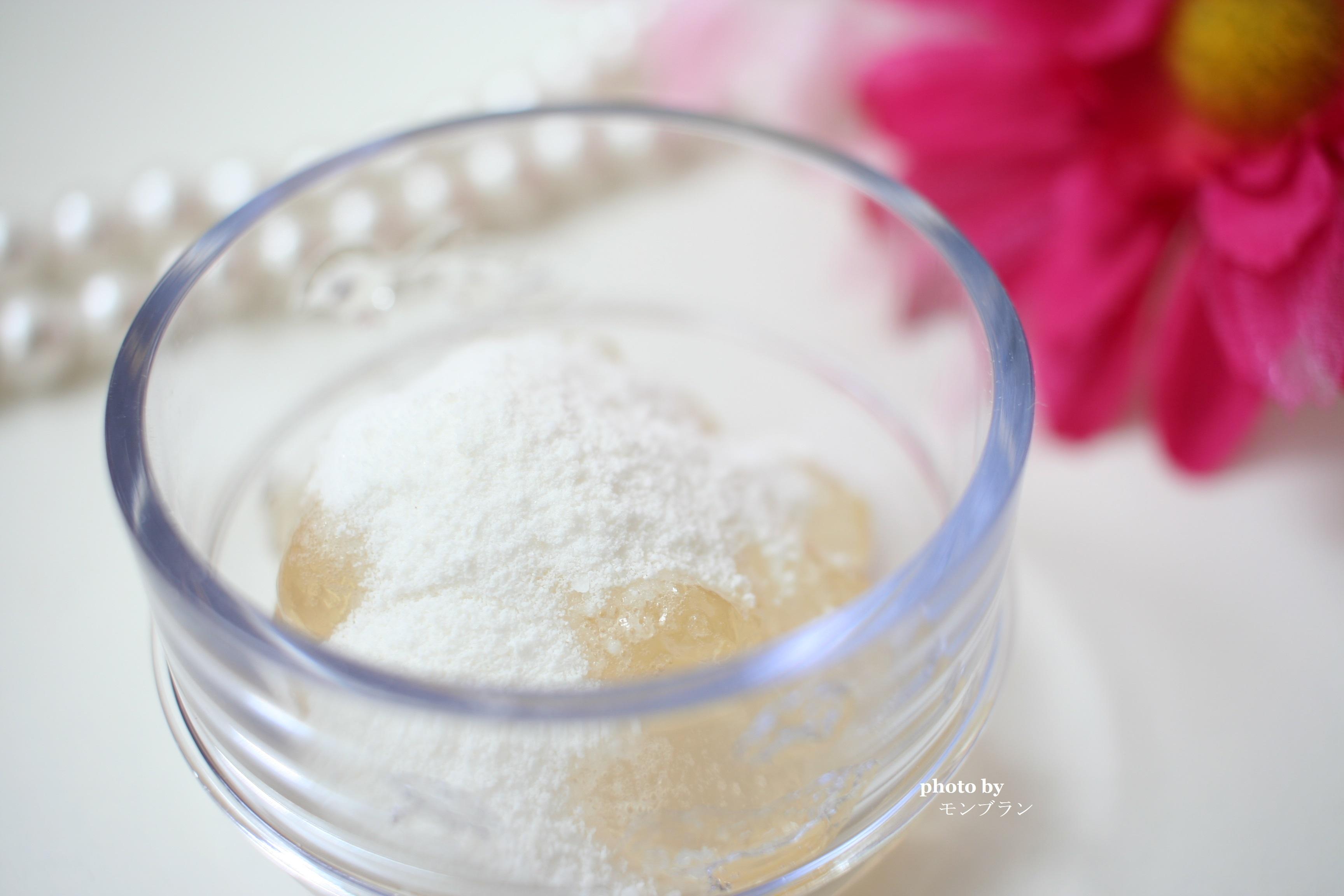 フェブリナのナノアクア炭酸ジェルパックの作り方