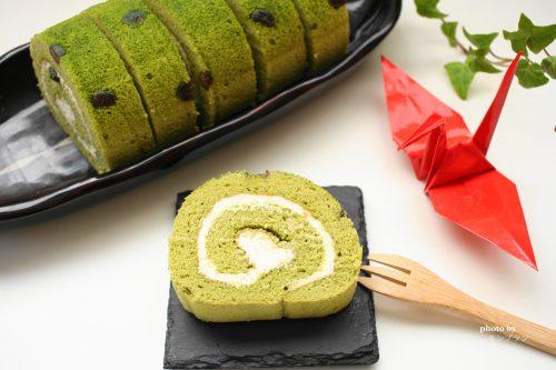 伊藤久右衛門の抹茶ロールケーキの切り方